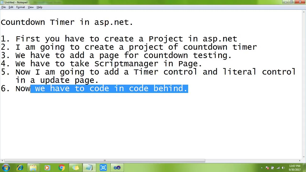 A wpf/mvvm countdown timer codeproject.