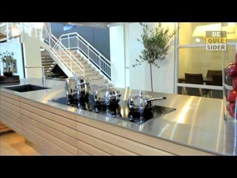 Køkkener Midtjylland Esbjerg N Svane Køkkenet /Lifa Design - YouTube
