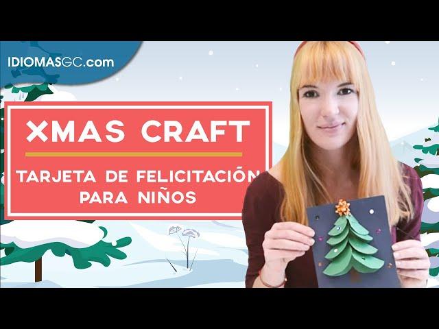 Manualidad navideña para niños | Idiomas GC