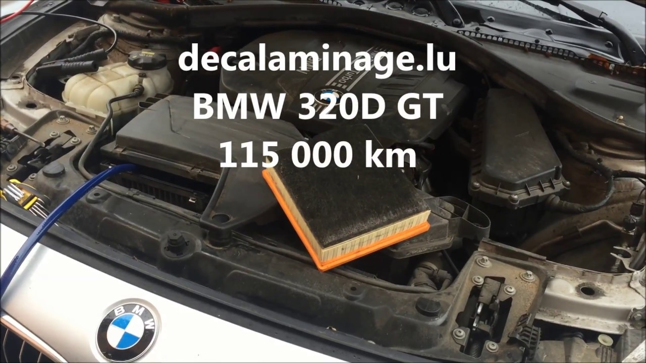 d calaminage moteur hydrog ne motor clean bmw 320d gt youtube. Black Bedroom Furniture Sets. Home Design Ideas