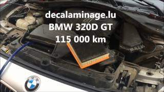 d calaminage moteur hydrog ne motor clean bmw 320d gt. Black Bedroom Furniture Sets. Home Design Ideas