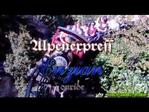 EUROPA-PARK Let´s Ride... Alpenexpress Enzian onride HD