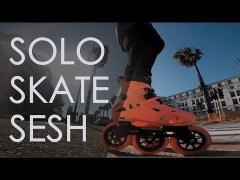 INLINE SKATING FLOW - SOLO SESSION IN A MODERN OFFICE AREA IN CAPE TOWN  // VLOG 152