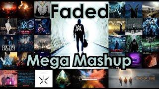 Alan Walker - Faded (MEGA MASHUP) ft. Walkers United
