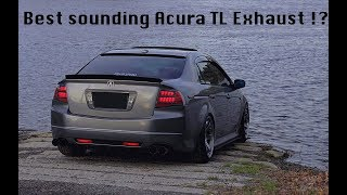 Acura TL Straight Pipe Exhaust