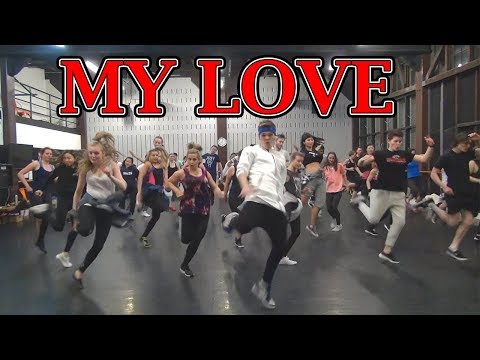 My Love - Wale Ft. Major Lazer, Wizkid, and Dua Lipa | Choreography by James Deane