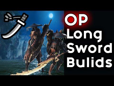BEST Long Sword Build To Make In Monster Hunter Rise |