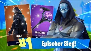 *NEW* LEGENDARY SKIN & SPITZHACKE are HERE!! *OMEN* (Fortnite) | Marky