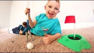 FATHER SON GOLF! / Mini Me Golf!