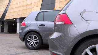 Volkswagen Golf VII vs Volkswagen Golf VI cars and colors comparison | FULL HD 1080p
