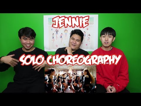 JENNIE - SOLO CHOREOGRAPHY UNEDITED VERSION REACTION (FUNNY FANBOYS)