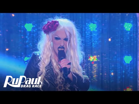 RuPaul's Drag Race (Season 8 Ep. 4) | 'Les Chicken Wings' New Wave Performance | Logo