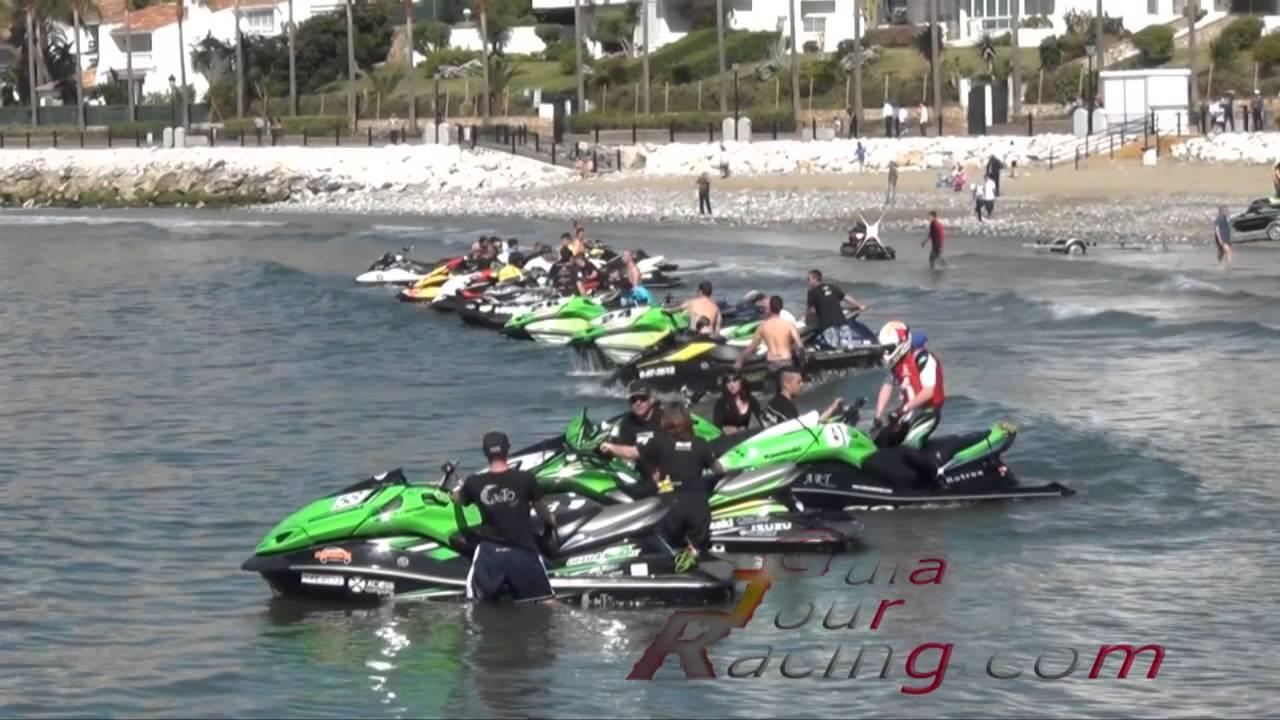Campeonato de espa 241 a motonautica 2013 marbella motos de agua