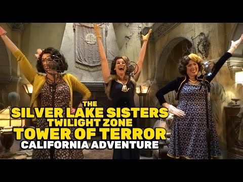 Silver Lake Sisters FULL PERFORMANCE in Twilight Zone Tower of Terror at Disney California Adventure