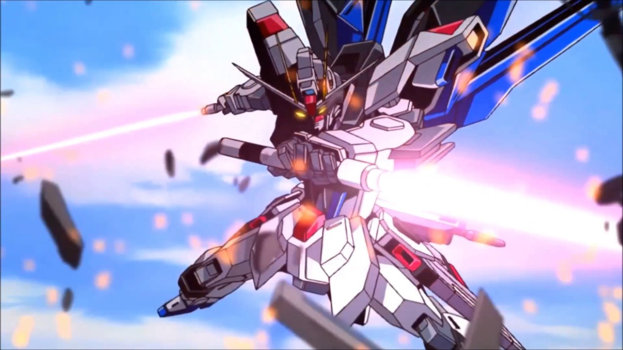Freedom Gundam vs Saviour Gundam - 「Gundam SEED Destiny ...