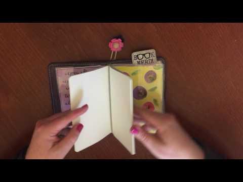 Reading Journal Set Up - Foxy Fix Travelers Notebook #3/A6