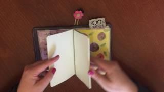 reading journal set up foxy fix travelers notebook 3 a6