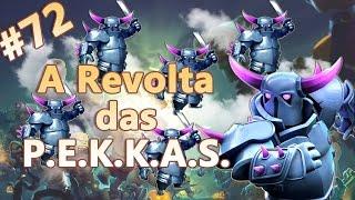 Clash of Clans HD Parte 72 - Centro de Vila 8 (CV8): Ataque das Pekkas!