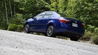 2015 Toyota Corolla S Test Drive