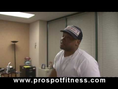 Jamal Anderson talking buisness