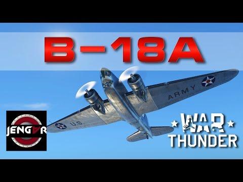 War Thunder Realistic: B-18A [Low Tier Bombing Joy]