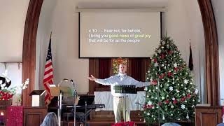 Good News of Great Joy (Luke 2:10-11)