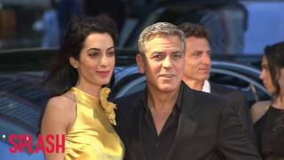 George and Amal Clooney Expecting Both a Boy and Girl | Splash News TV