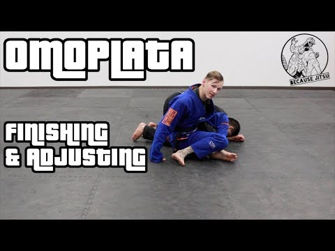 Omoplata: Finishing & Adjusting - Drew Weatherhead Brazilian Jiu Jitsu