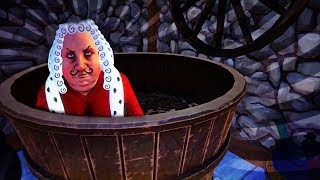 WHERE IS HE HIDING!?!? SECRET BATHROOM!!? (Goodbye My King Game / Gameplay Goodbye My King)