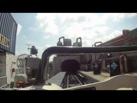 Backlot Stunt Coaster (HD POV) Kings Island