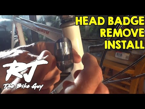 How To Remove/Install Bike Head Badge from YouTube · Duration:  3 minutes 48 seconds