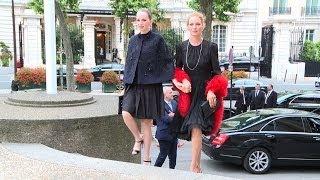 Miu Miu party arrivals in Paris