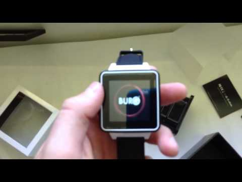 Christmas Unboxing Burg 16 Smart Watch