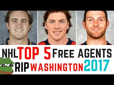 NHL TOP 5: FREE AGENTS 2017