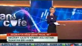 CNBC E Finans Cafe 07 12 2011 - Erken Eğitimi Seç Kampanya Destek