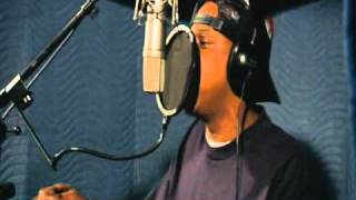 "Jay-Z recording vocals for ""Jigga What / Faint"" (Collision Course)"