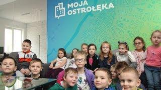 Dzieci z PM nr 10 w redakcji 'Mojej Ostrołęki'