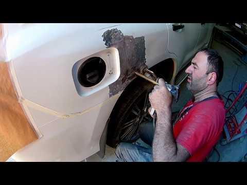 Lexus LX570 Кузовной ремонт в Армении/Body Repair In Armenia