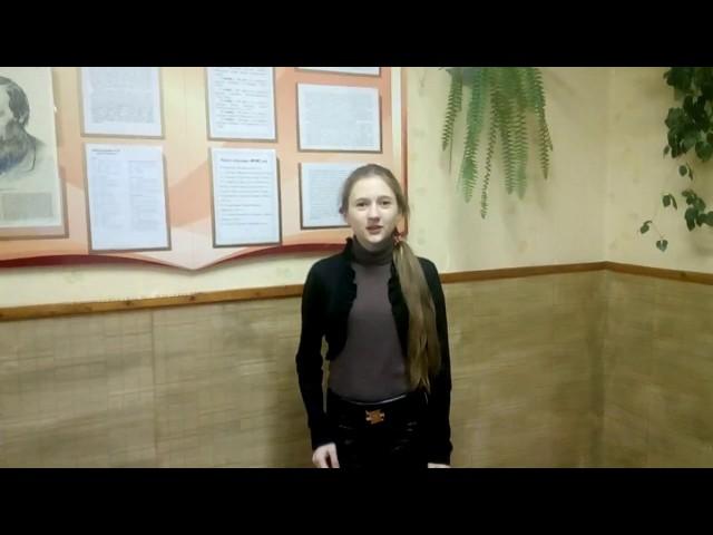 Изображение предпросмотра прочтения – АнгелинаПавловская читает отрывок изпроизведения «Она не гордой красотою» М.Ю.Лермонтова