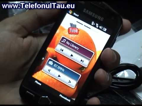 Samsung i8000 Omnia II Review ( in Romana ) - www.TelefonulTau.eu -