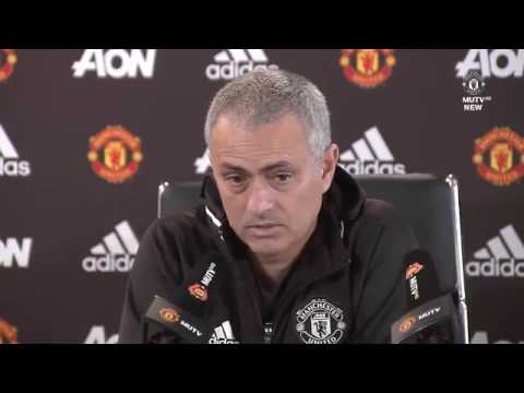 36 I KNOW WHO I WANT!!!   Jose Mourinho's Embargoed Press Conference   Manchester United vs Watford