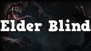 Fighting Elder Blind with Crit Scion Bladefall Totems