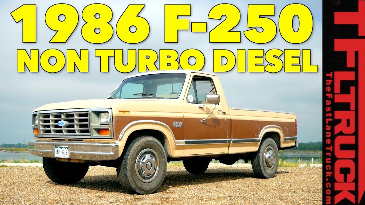 Dude I Love My Ride Classic 1986 Ford F 250 Diesel Youtube