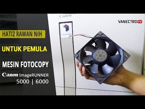 Mesin Fotocopy ERROR 805 Canon ImageRUNNER 5000-6000