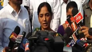 Paritala Sunitha MF&CS Hold Pressmeet In Anantapur 14-4-2016