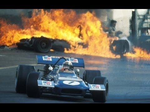 F1 - 1970 Jarama GP - Jacky Ickx & Jackie Oliver accident