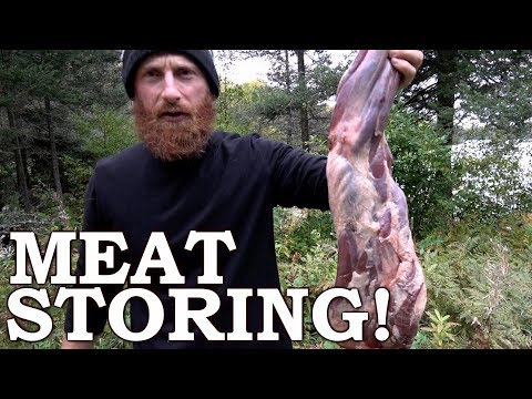How to PRESERVE Meat in the FOREST using PRIMITIVE TECHNOLOGY! | 100% WILD FOODS! Ep9