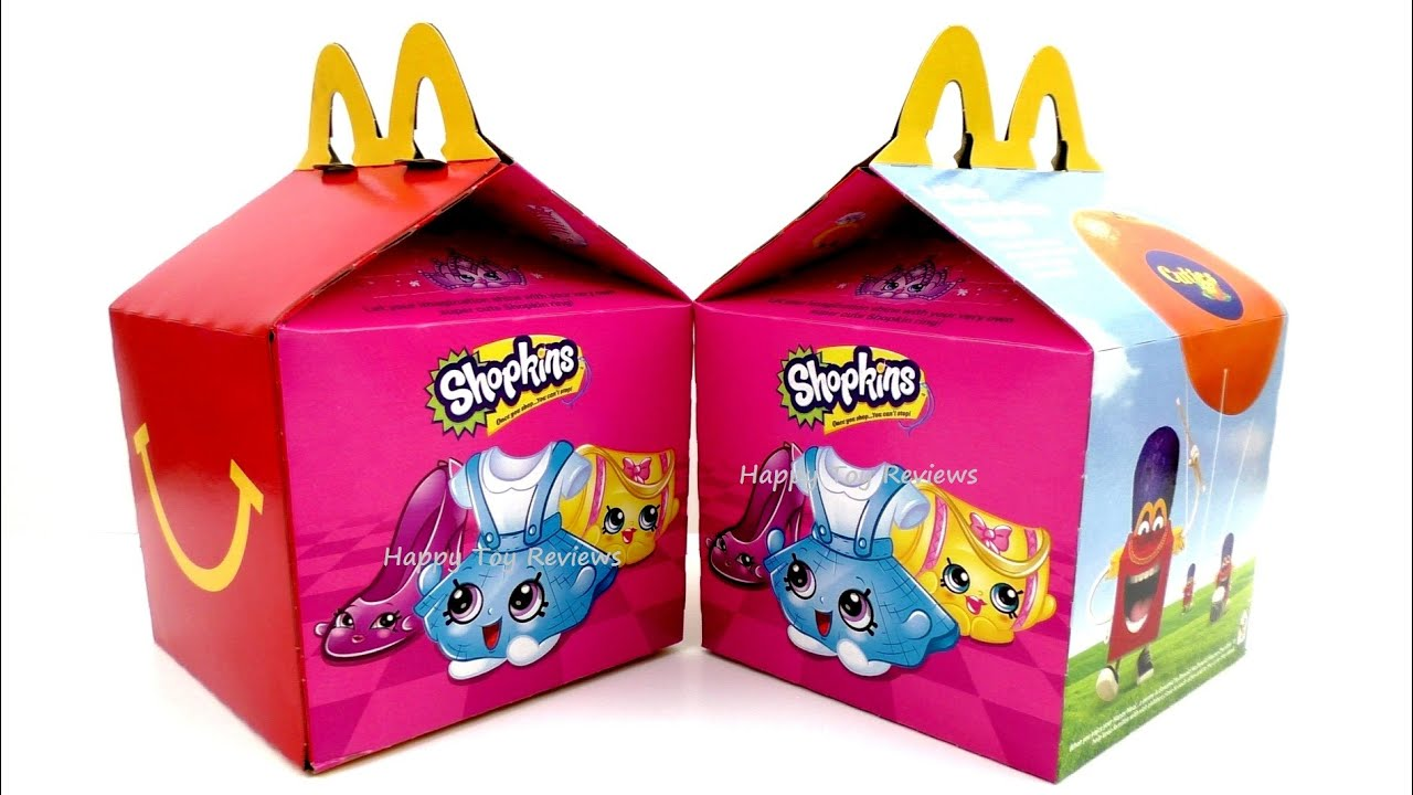 2016 McDONALD S SHOPKINS HAPPY MEAL BOX SET OF 16 KIDS MEAL TOYS