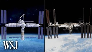 China's Answer to tнe Aging International Space Station: The Tech Behind Tiangong   WSJ