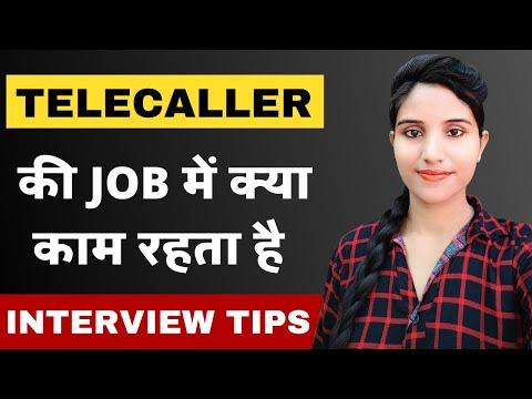 Telecaller Job Me Kya Karna Hota Hai | Call Center Job Interview in Hindi